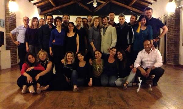Corso di Tango Artetoiles Gruppo di Partecipanti