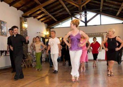 Corso di Tango  Artetoiles Lezione del Maestro Mariano Mavone