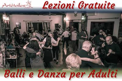 Lezioni Gratuite Balli e Danza per Adulti Artetoiles Roma