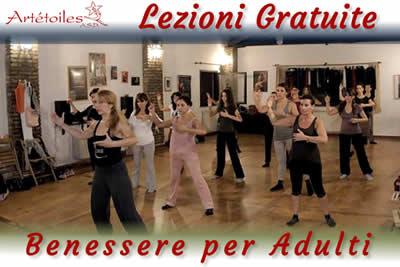 Lezioni Gratuite Benessere Adulti Artetoiles Roma