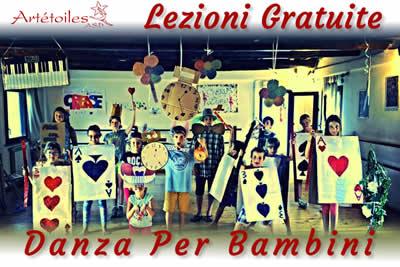Artetoiles Lezioni Gratuite Danza per Bambini