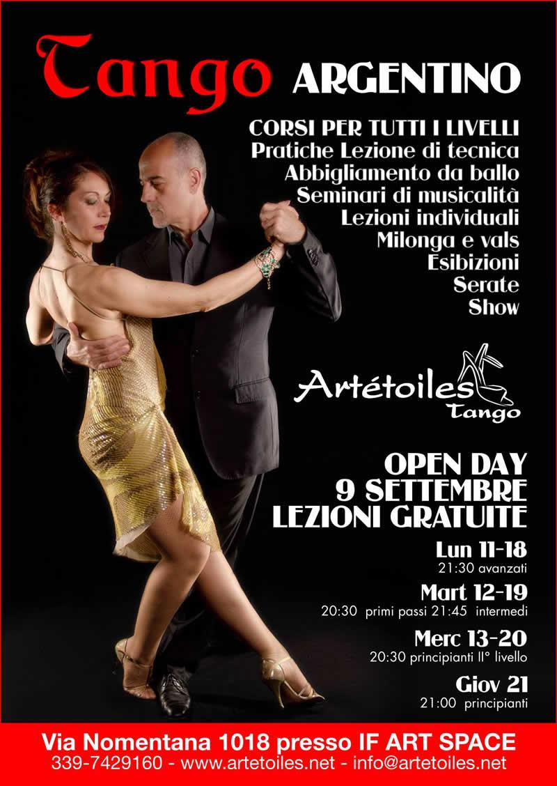 Tango Argentino Lezioni Gratuite