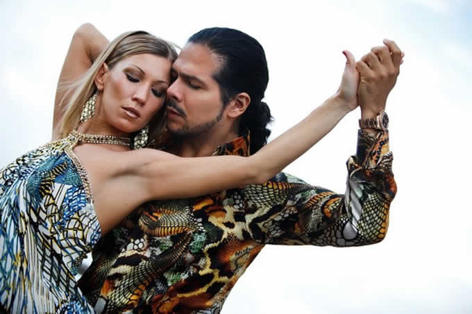 Sebastian Arce e Mariana Montes