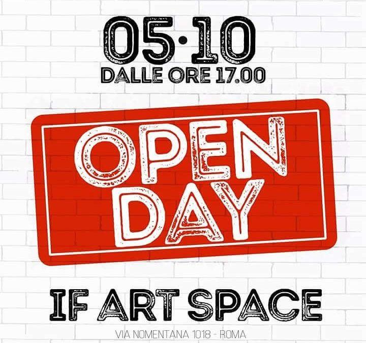 Open Day Artetoiles 5 Ottobre 2018 Ore 17:00
