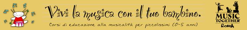 Corso Music Together Musica Insieme al Tuo Bambino Artetoiles Talenti Roma