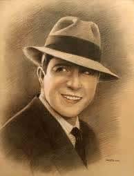 Carlos Gardel I Grandi Personaggi del Tango Ritratto