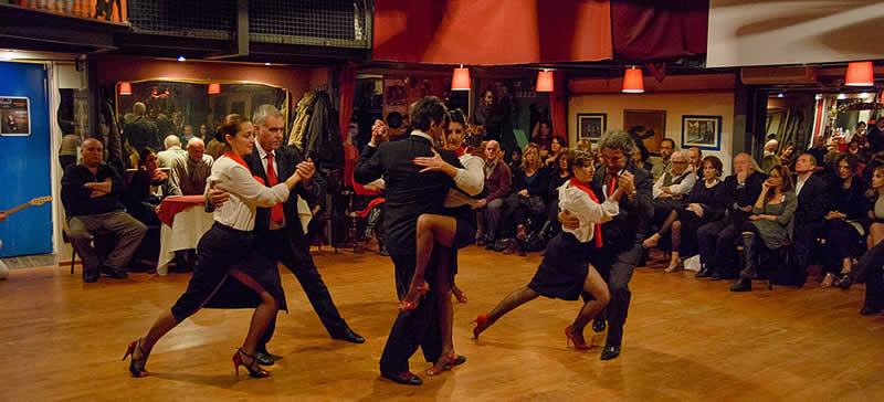 Seminario di Tango Escenario Artetoiles Roma Evita
