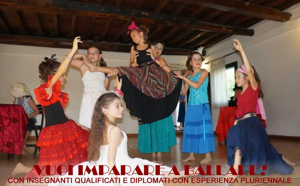 Centro Estivo Bambini Ragazzi Ballare Artetoiles