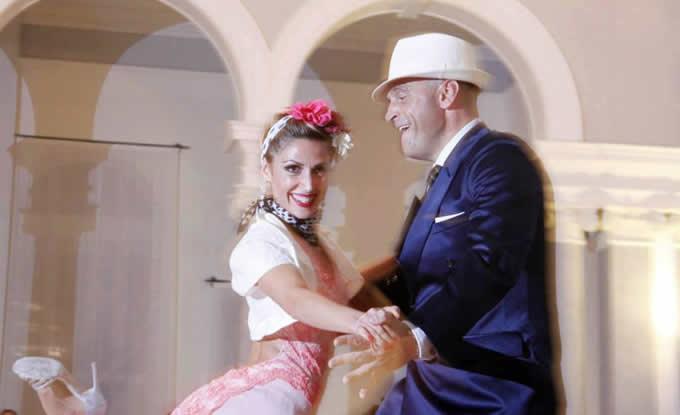Luciano Donda e Cinzia Lombardi Tango Artétoiles Roma