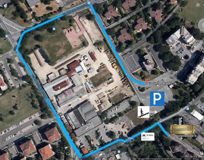 Artetoiles Teatro IF Roma Nomentana Ingresso Mappa