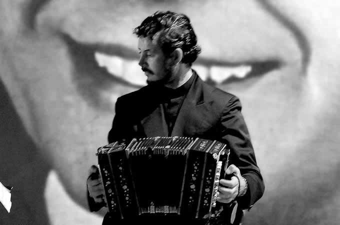 Mariano Navone alla Fisarmonica