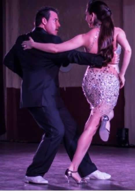 Fabian Salas e Lola Diaz