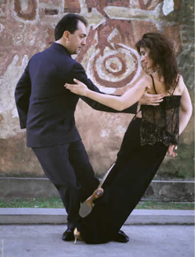 Gustavo Naveira e Giselle Anne