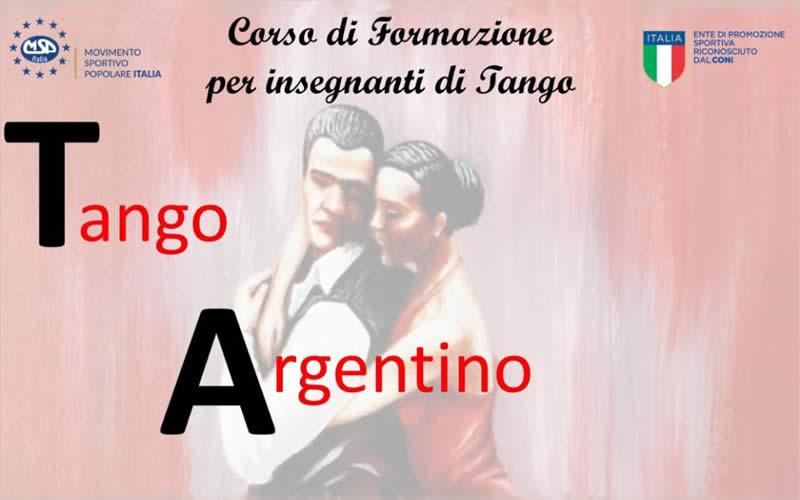 Formazione Istruttore Tango Argentino 2019
