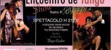 Show Encuentro de Tango – Giovedì 4 Aprile ore 21:00