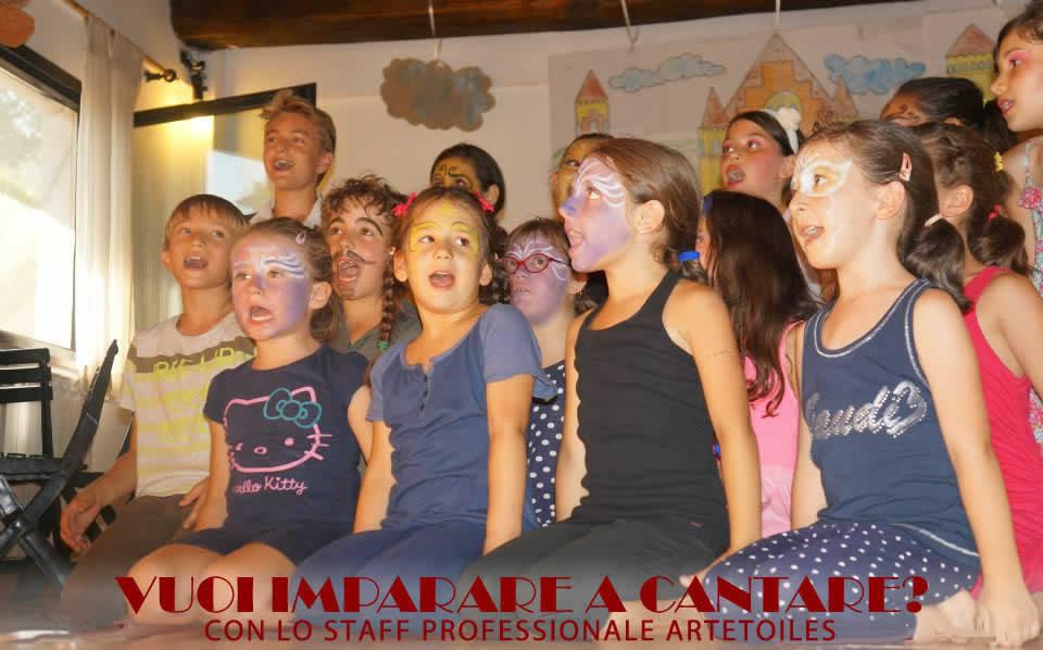 Centro Estivo Artetoiles Cantare 2019