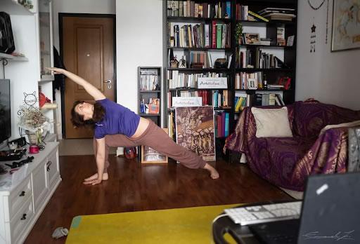 Seconda Lezione Hata Yoga - Fabiana Fusaro