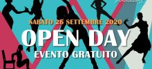 Open Day 26 Settembre 2020 – Evento Gratuito