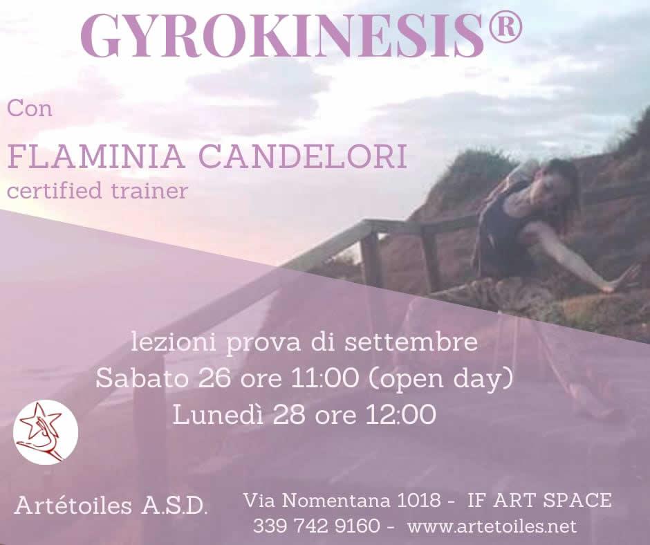 Settembre 2020  Gyrokinesis